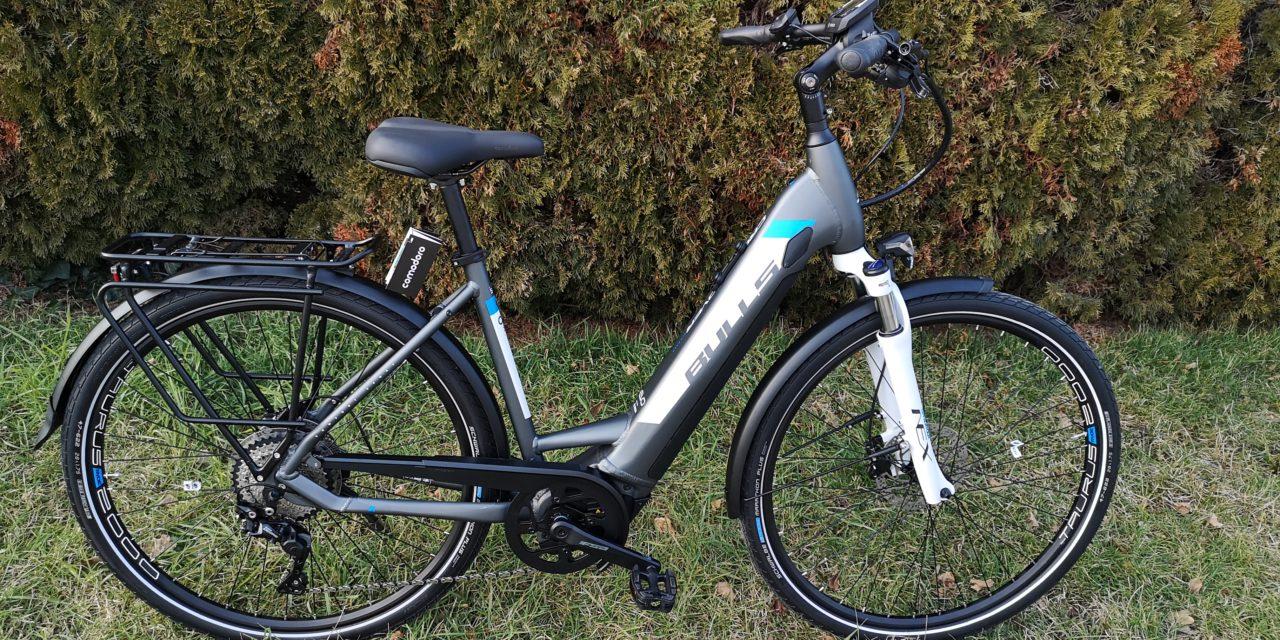 E Bike mit integriertem Akku