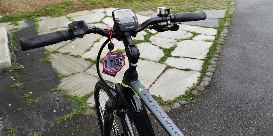 E Bike Lenker mit Bosch Display